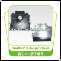 supply for XAAR 382 proton print head ,100% original from UK compatible with solvent printer