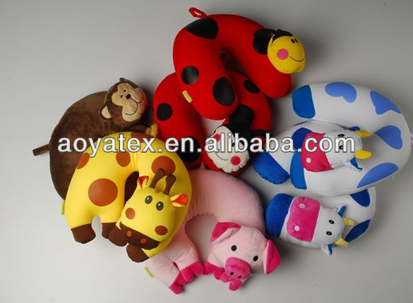 animal shape travel neck pillow