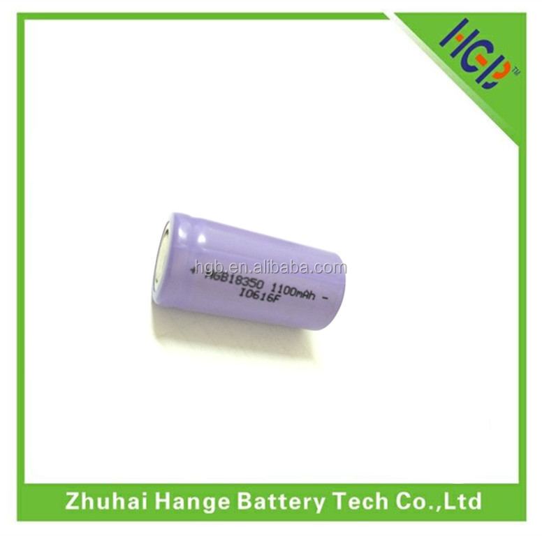 18350 900mAh lithium polymer battery pack universal battery charge