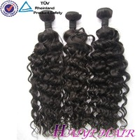 One Donor Virgin Hair Weft Large Stock kinky baby curl hair weave