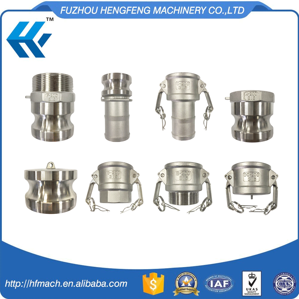 Various Type Stainless steel Hydraulic Flexible Pipe Coupling