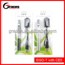 2013 Grace max vapor electronic cigarette ce4 ego blister kit with ce4 ce5 ce6 ce7 ce8