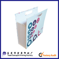 paper cardboard expandable accordion file folder