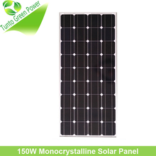 Promotional price pv 150w 12v solar panel