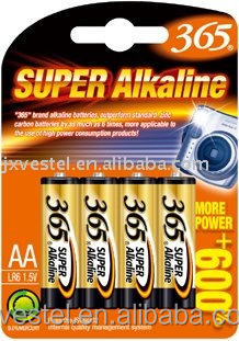 365 Super Alkaline AA / LR6 / AM3 BATTERY /1.5V