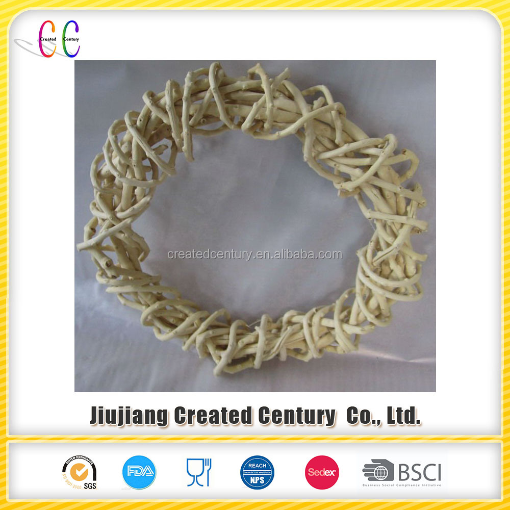 Decorative natural rattan napkin ring for party even as gift