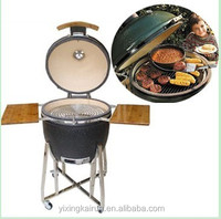 2016 wholesale home and garden picnic great quality kamado grill charcoal bbq grill with stainless steel cart