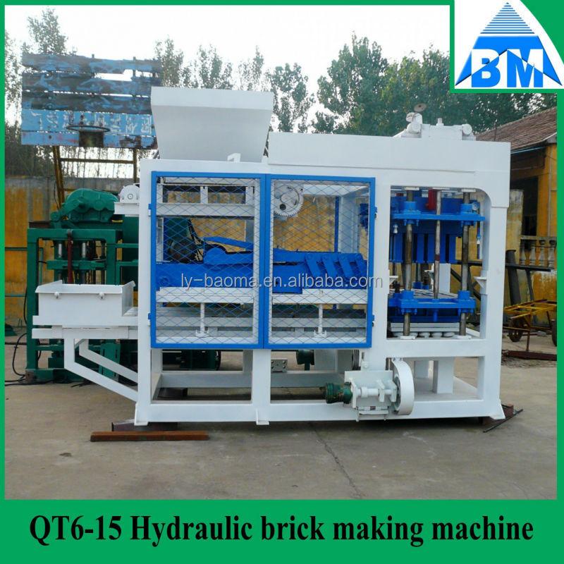Qt6 15 autom tico hidr ulico cemento ladrillo que hace la for Ladrillo hidraulico