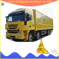 SAIC Motors Hongyan iveco CQ1255HMG50-594 12 wheelers 25tons diesel van truck for sale in thailand