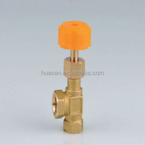 Wholesale Forged 1/8 1/4 3/8 1/2 inch Brass Needle Gas Control Valve