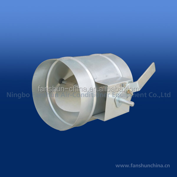 HVAC regulating damper Air duct damper round air damper DS