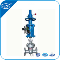 Electric ANSI carbon steel ductile iron material flange 150# to 900# RF BB OSY parallel wedge DN200 gate valve