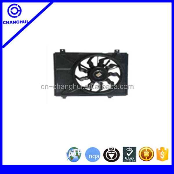Alibaba high quality auto electric cooling fan assembly MOTOR ELECTRICO RADIADOR SOLO for 25386-0X000 253860X000 Hyundai i10