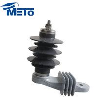 Best Selling Housed Limit over voltage 11kv 5ka Polymer silicon rubber lightning surge arrester