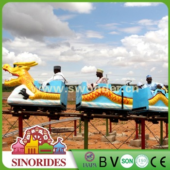 Playground Dragon Coaster Ride Amusement Park Small Roller Coaster for Swonder Factory