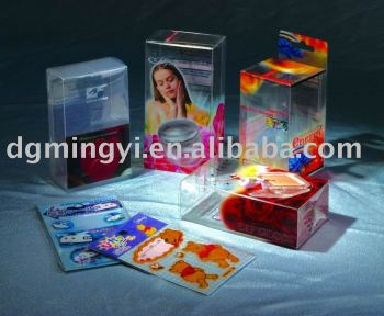 PET Printed Clear Packaging Box