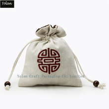 Hot sell branded cotton packaging bags