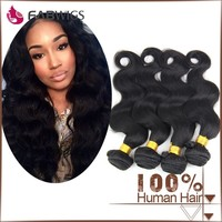 Top quality brazilian hair 6A grade human hair extension from China factory