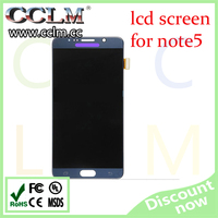 mobile phone accessories lcd touch screen with digitizer assembly for samsung note 5 lcd screen original