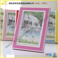 Promotional High Quality Fashionable Colorful Wholesale Bulk Custom PVC Photo Frame Different Colors For Choose
