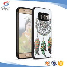 Double layer TPU+PC Multicolor Printed case for samsung galaxy s8 case