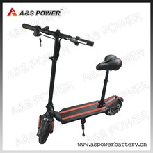 Battery powered 45km 350w li-ion battery electric scooter