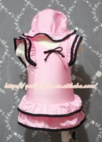 Light Pink Black Layer Sweet Swimming Suit with Cap MASW47