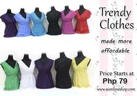 Affordable Trendy Blouses