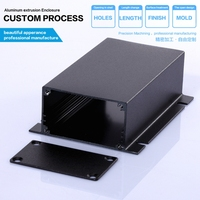 YGK-011 AL6063 customized 67x30x90 mm aluminum metal box electronics, music box