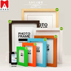 2014 newest table decoration photo frame 4x6 5x7 6x8 8x10 flexible decoration plastic wall panels
