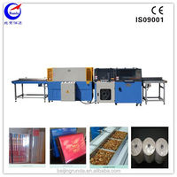 pof shrink film L-bar sealer wrapping machine for book