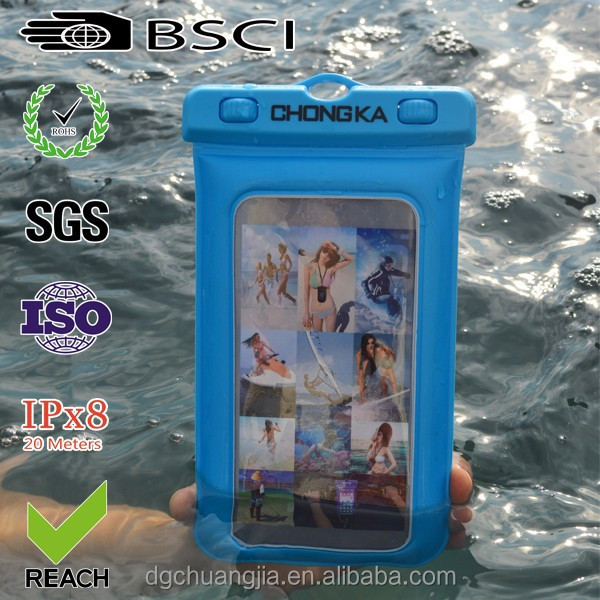 New arrival clear waterproof cover for samsung galaxy s3 i9300