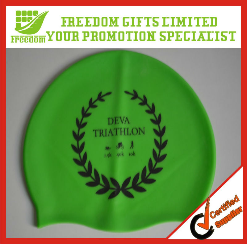 Most Popular Promotional Silicone Swimming Cap