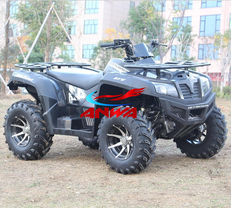 China Wholesale gas powered electric start avt 4 wheeler 350cc atv for adult