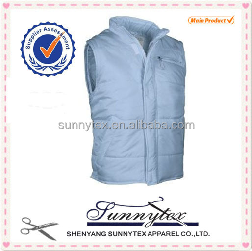 Sunnytex winter padded windproof sleeveless jacket Waterproof Outdoor Vest mens