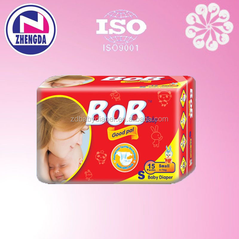 BOB baby diapers china manufacturer baby diaper in guangzhou with low price
