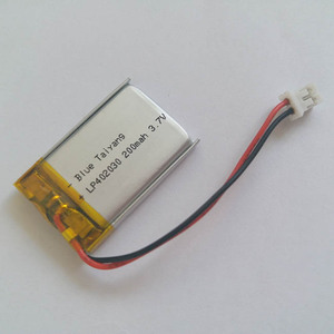 200mah 382030 recharge lithium li-ion battery 042030 small battery 3.7v for bluetooth headsets