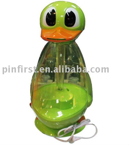 New Crane Adorable Ultrasonic Cool Mist Humidifier,Duck Shape