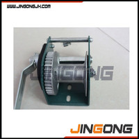 manual hand winch with brake