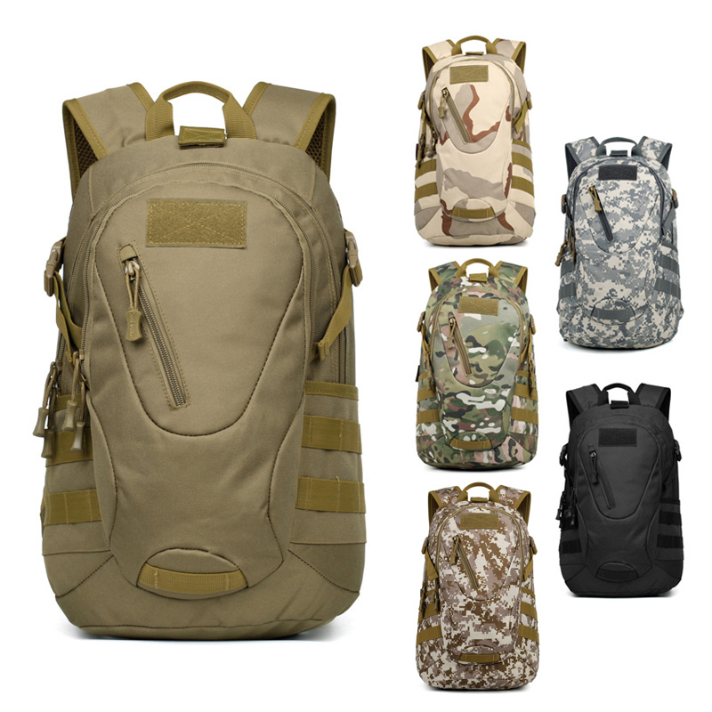Factory wholesale high quality large capacity waterproof camping military backpack tactical