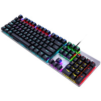 AULA SI-2068 mechanical laser keyboard for gaming with knob wholesale
