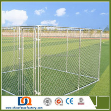 Easy install Heavy duty chain link Extra large dog kennels runs (Anping factory)