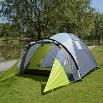 Waterproof Double Layer Outdoor Camping Family Tent