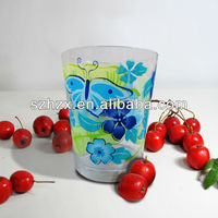 500ml Plastic Butterfly Printing Beer Cups Water Cups
