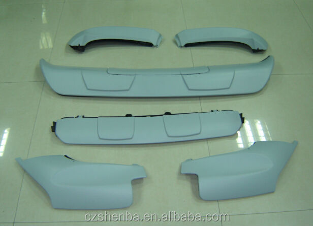 car shirts front and rear lower spoiler for BMW X5