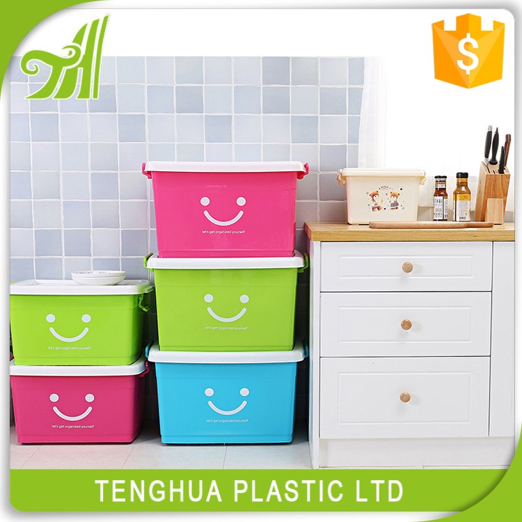 Factory Direct Sale Eco-friendly Plastic Sundries Container