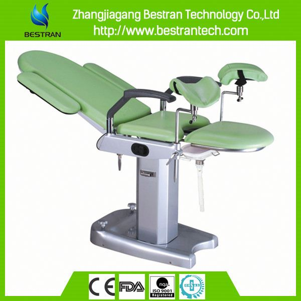 China BT-GC002B Multifunction Electric Gynecology Exam Chair, hydraulic gynecological chair used