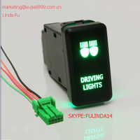 NEW TOYOTA Vigo Driving lights Push switch Green