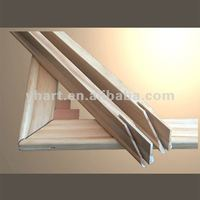 Manufacturer for Wood Stretcher Bar Wood Material Picture Photo Frame Wooden Photo Frame