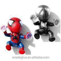 Vinyl Sucker Spider-Man Toy Climbing Spider Man Automotive Car Decoration Doll